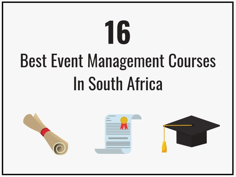 16 BEST EVENT MANAGEMENT COURSES IN SOUTH AFRICA - aleit academy